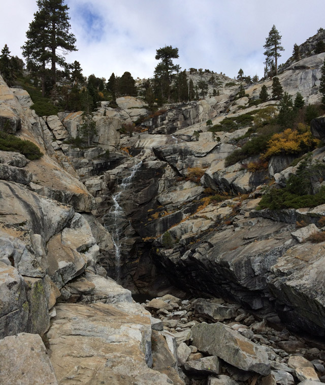 Horsetail Falls is much more impressive when there's more water, but it was still nice.