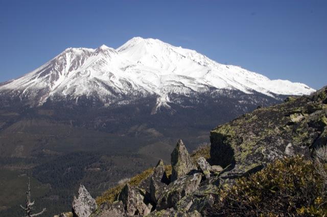 Mount Shasta!