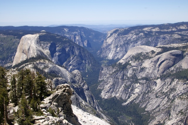 The view from Clouds Rest is even better than the view from Half Dome.
