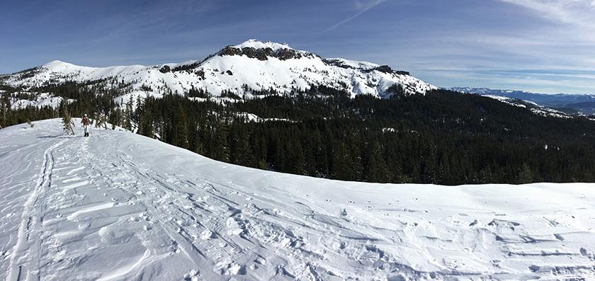 Snowshoeing Andesite Peak